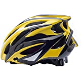 サイクリング自転車用ヘルメット 自転車用ヘルメット、調整可能なSunhat付き超軽量成人用自転車用ヘルメット、自転車用ヘルメット、プロの男性と女性の安全に適した スポーツ用保護ヘルメット (色 : C, サイズ : Medium)
