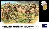 マスターボックス 1/35 MTMB3544/ 日本陸戦隊&米海兵隊5体タラワ戦1943肉兵戦