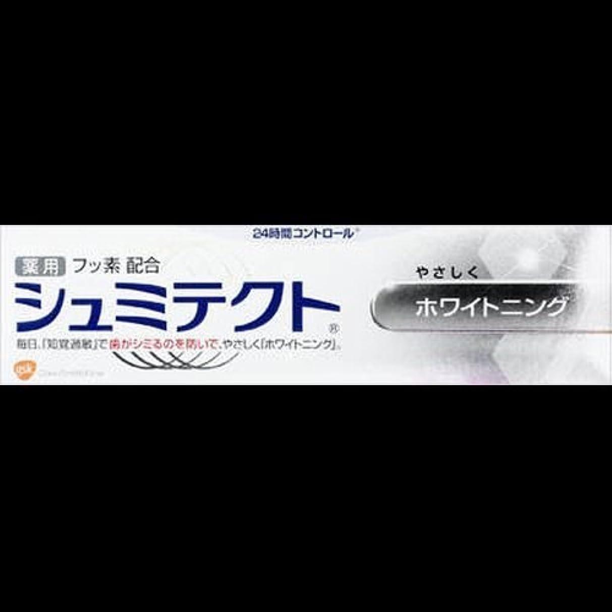 スコア情報大きい【まとめ買い】薬用シュミテクト ホワイトニング 90g ×2セット