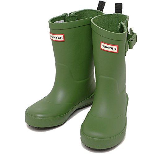 ハンター ブーツ キッズ HUNTER KFT5001RMA PGN DAVISON KIDS レインブーツ/長靴 PEA GREEN[並行輸入品]