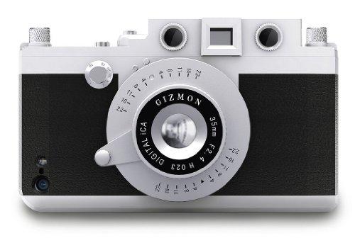 GIZMON iPhone5/iPhone5S対応カメラ型ケース iCA5 BLACK GIZ-ICA5-BK