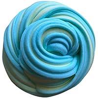Tsmile応力RelieverおもちゃふわふわFloam Slime香りつきStress Relief No Borax Kids Toy Sludge Toy 24*18*4cm AA