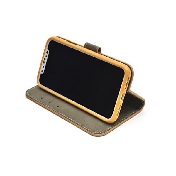 PLATA iPhone X ケース 手帳型 ...の紹介画像2
