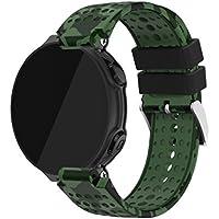 Compatible Garmin ForeAthlete 235J バンド - Yayuu Garmin ForeAthlete 235J専用ソフト 高級 シリコーン製腕時計ストラップ/バンド 交換ベルト(に対応 Garmin ForeAthlete 220/230 / 235/620 / 630/735 スマートウォッチ)