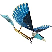 羽ばたき飛行機【WOOJIN CRAFT・屋内外対応・ゴム動力オーニソプター】
