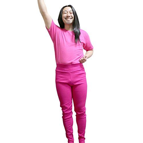 GREEM MARKET(グリームマーケット) ガンバレルーヤ 風 なりきり パロディ フリーサイズ コスプレ セット 衣装 お得なセット!品番:GMH-00199pink(よしこ風ピンクセット)
