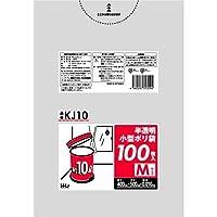 【5ケース特価】HHJ 小型 増量タイプ ポリ袋 10L 半透明 0.010mm×400×500mm 4000枚×5ケース 100枚×40冊入×5 KJ10