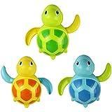 ベビーキッズ教育玩具、ftxjかわいい新しいBorn赤ちゃんSwim Turtle wound-upチェーンSmall Animal Bathおもちゃクラシックおもちゃ