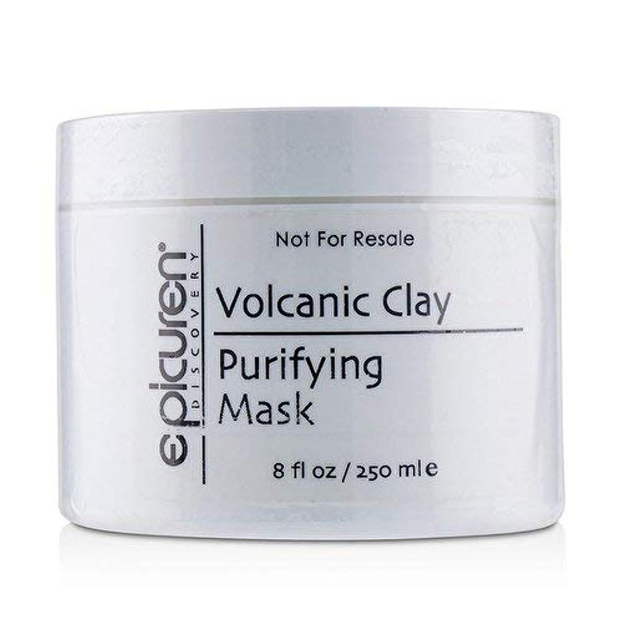 現在月曜日アメリカEpicuren Volcanic Clay Purifying Mask - For Normal, Oily & Congested Skin Types 250ml/8oz並行輸入品