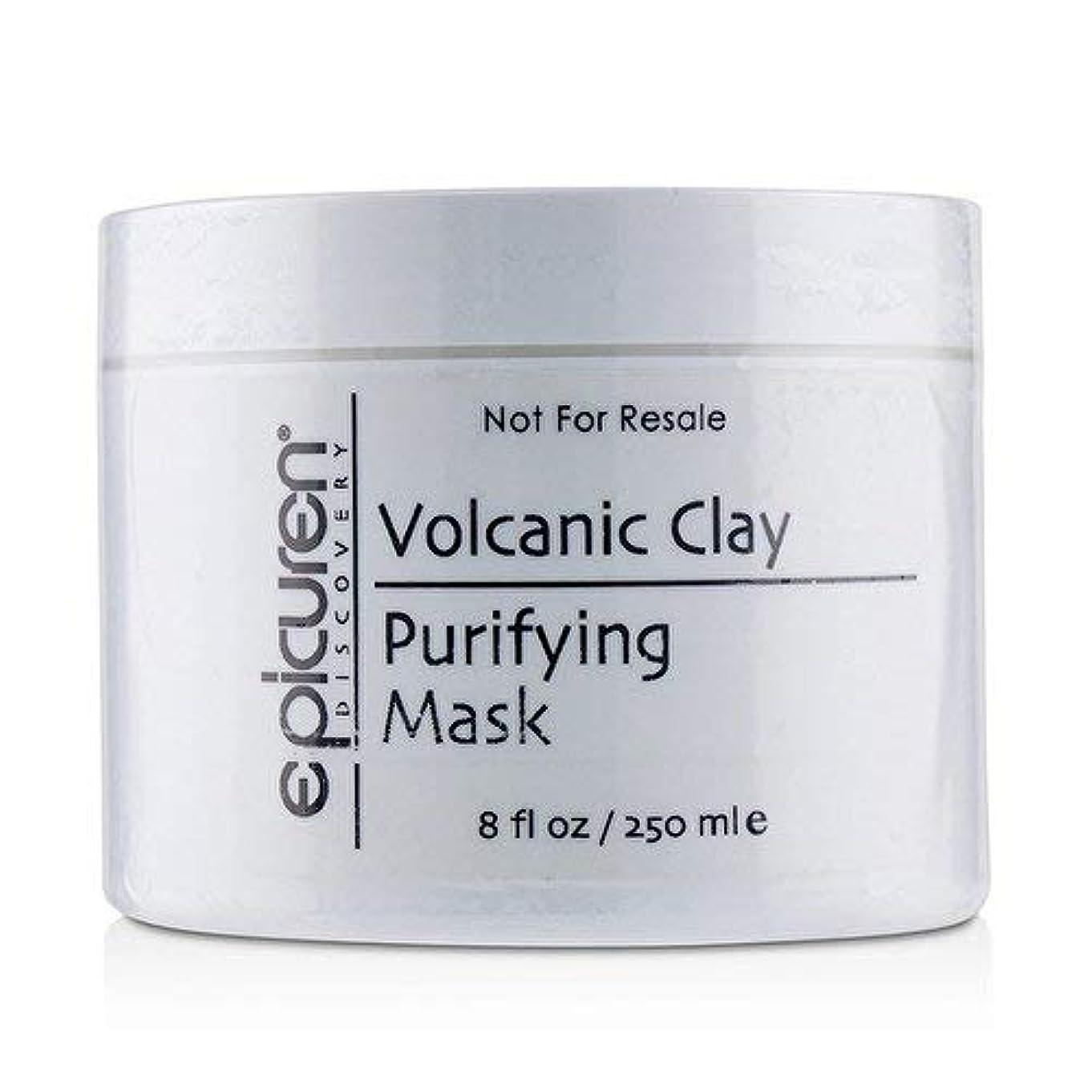 ボーダークラック平方Epicuren Volcanic Clay Purifying Mask - For Normal, Oily & Congested Skin Types 250ml/8oz並行輸入品
