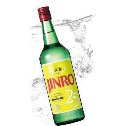 JINRO 25度 700ml×1ケース(12本) -