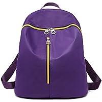[J&M] #8028B学院風鞄 防水性耐久性ナイロンバックパック レディースバッグ backpack 通学 通勤 アウトドア 2色