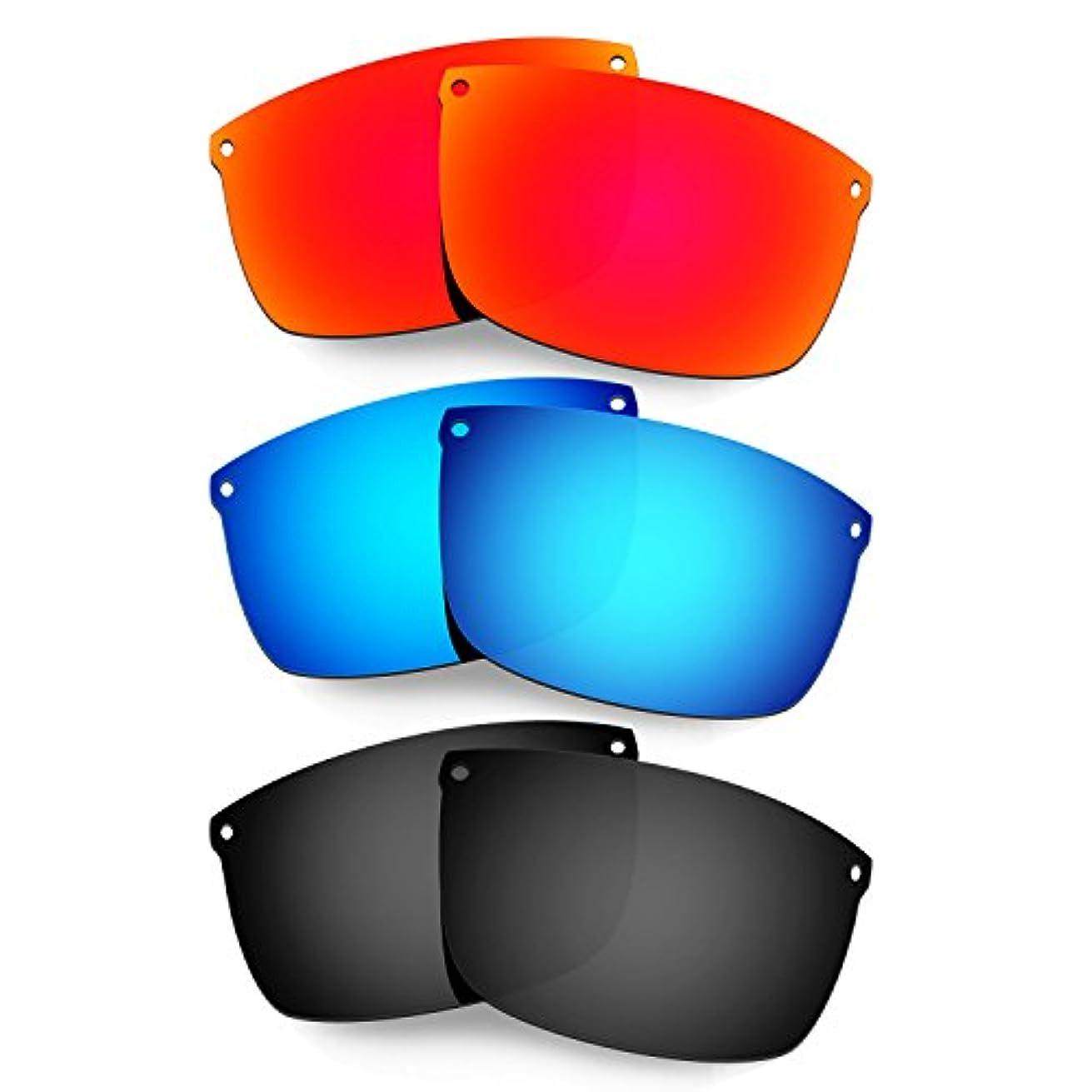 わずらわしい寛大な麻痺Hkuco Plus 交換用レンズ For Oakley Carbon Blade - 3 pair