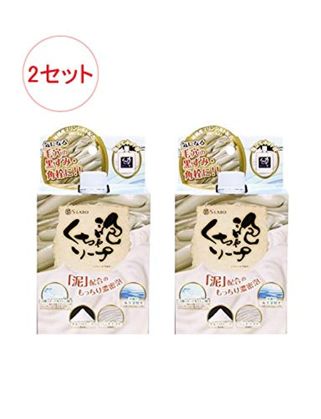 日本製 モコモコくちゃ泡ソープ 100g x 2セット