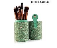 化粧筆セット、12気筒化粧筆セット化粧道具セットブラシ (Color : グリーン)