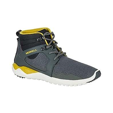 メレル シューズ スニーカー Merrell Men's 1SIX8 Mid Shoe GREY [並行輸入品]