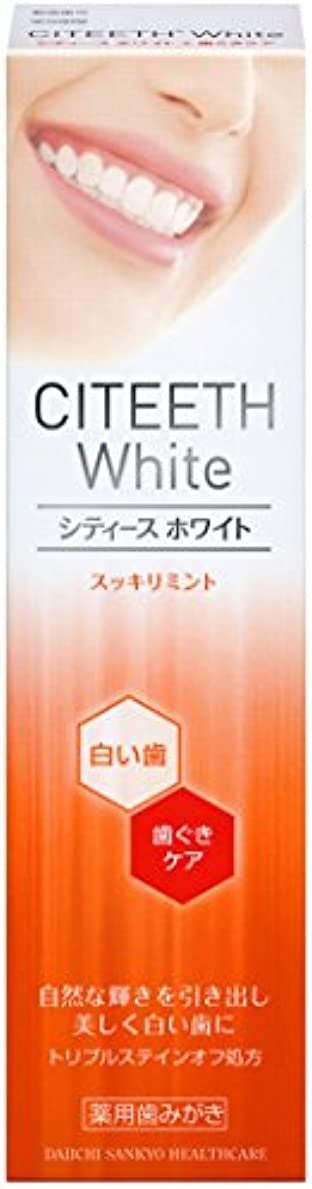 現代の保持するパンツシティースホワイト+歯ぐきケア 110g [医薬部外品]