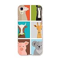 igcase iphone7 iphone アイフォーン 専用ハードケース スマホカバー カバー ケース pc ハードケース 011203 動物 アニマル カラフル