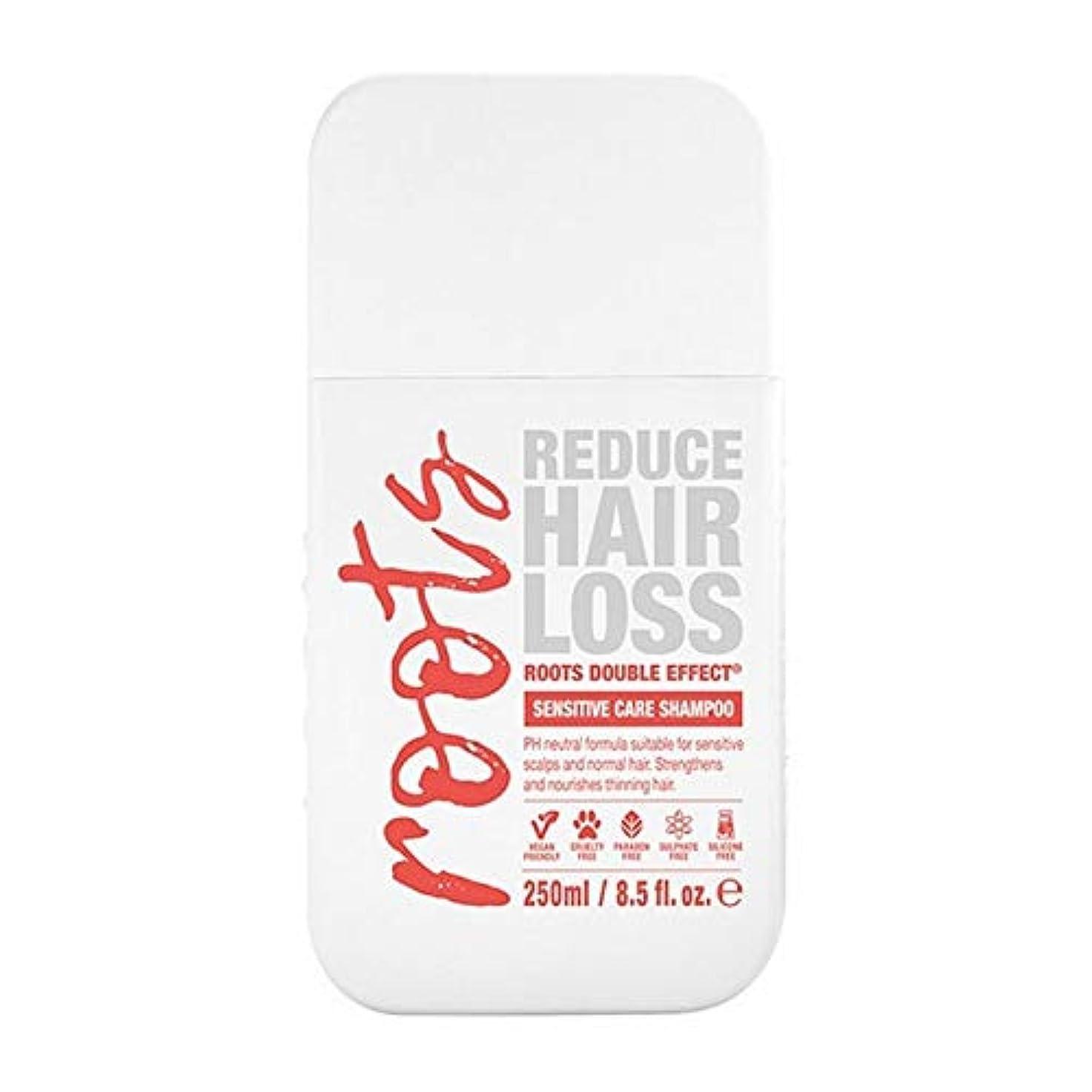 バリア無効ポーン[Roots ] 根のダブル効果に敏感なシャンプー250Ml - Roots Double Effect Sensitive Shampoo 250ml [並行輸入品]