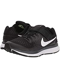 [NIKE(ナイキ)] キッズスニーカー?スケートシューズ?靴 Zoom Pegasus 34 FlyEase (Little Kid/Big Kid) Black/White/Dark Grey/Anthracite...