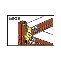 【301-24】作業予定マグネット板 鉄骨工事