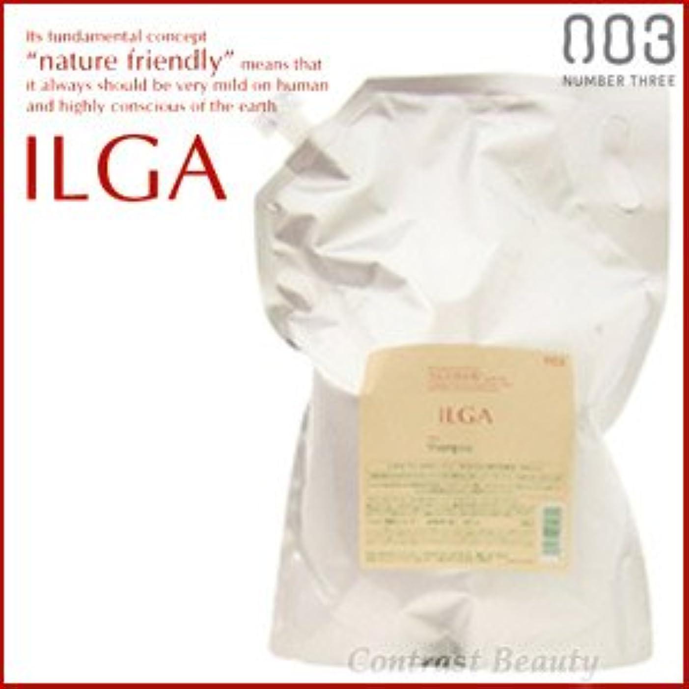 ブッシュ振る舞うまた明日ね【X3個セット】 ナンバースリー ILGA/イルガ 薬用シャンプー 3L 詰替え用 (医薬部外品)