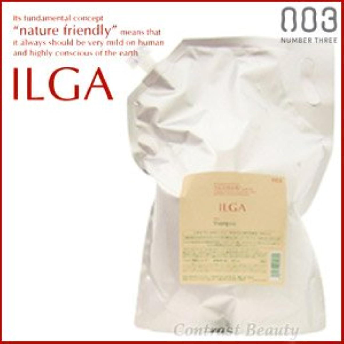 とても多くのゆりかごうなずく【X3個セット】 ナンバースリー ILGA/イルガ 薬用シャンプー 3L 詰替え用 (医薬部外品)