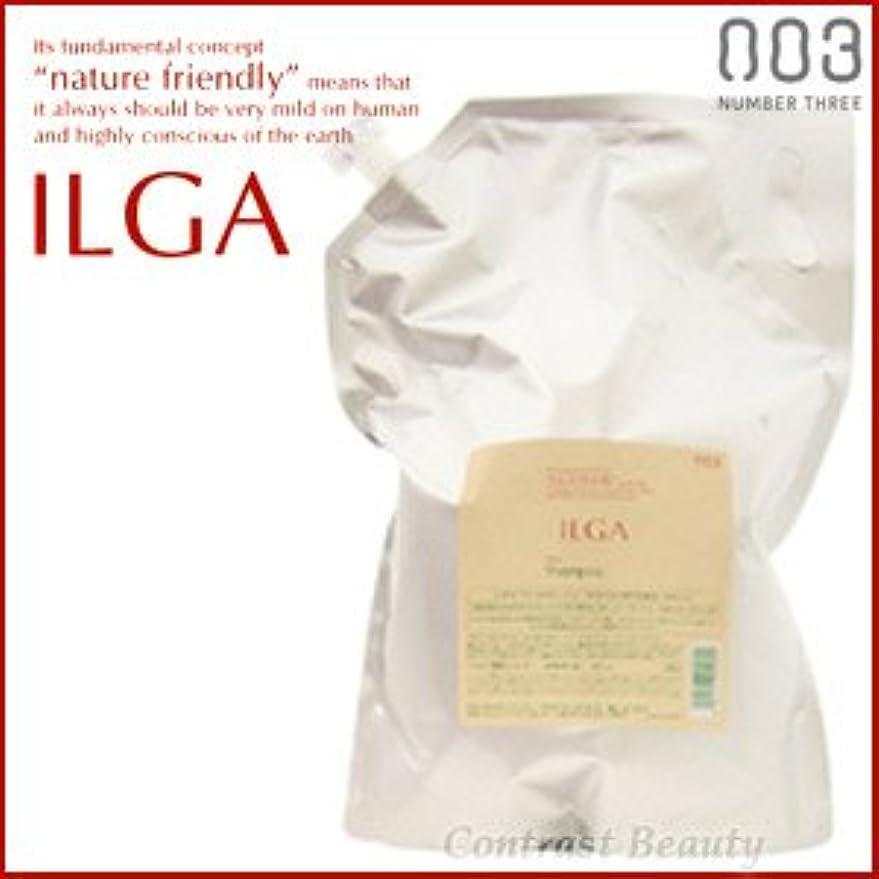抽象化聴覚名声【X5個セット】 ナンバースリー ILGA/イルガ 薬用シャンプー 3L 詰替え用 (医薬部外品)