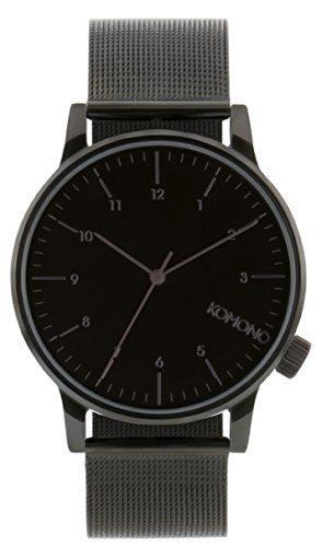 [コモノ] KOMONO 腕時計 [ウィンストン・ロイヤル] WINSTON ROYALE - BLACK [並行輸入品]