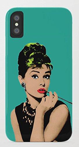 オードリー・ヘップバーン iPhone 8/8plus Xケース society6 (iPhone 8plus, Audrey03) [並行輸入品]