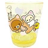 【リラックマ】カラークリスタルカップ(アップ)★のんびりネコ★[027101]
