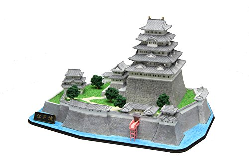 Fujimi model meijo series No.7 1 / 800 Edo Castle plastic meijo 7