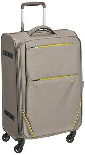 [ヒデオワカマツ] スーツケース フライII 超軽量ソフトキャリー 容量48.5(54)L 縦サイズ65.5cm 重量2.6kg 8...