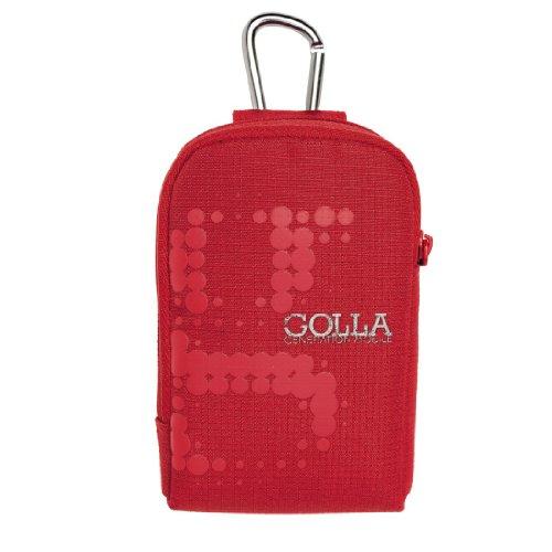 golla golla digi bags カメラポーチ レッド GAGE G1145 for your digital camera