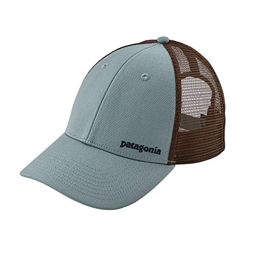 パタゴニア キャップ PATAGONIA Small Text Logo Lopro Trucker Hat Cadet blue トラッカーハット