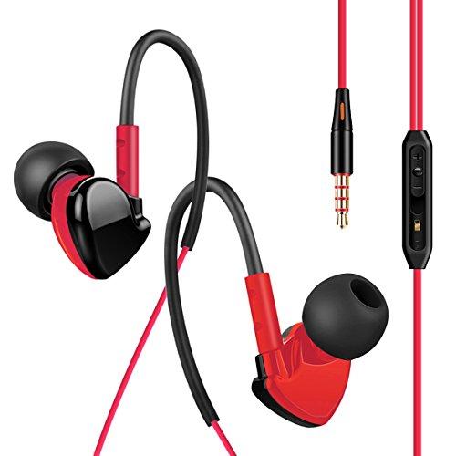 [해외]G-START- 이어폰 귀에 걸고있는 커널형 스포츠 용 이어폰 스테레오 헤드폰 고음질 마이크와 여러 기종 대응 리모컨 유선 이어폰/G - START - earphone ear type ear canal type sports earphone stereo headphone high sound quality for many model...