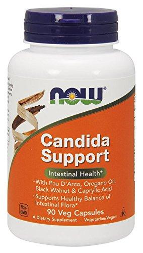 NOW Foods - カンジダ サポート - 90ベジタリアン用カプセル