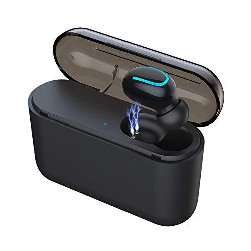 Eleproof Bluetooth イヤホン 片耳 V5.0 ワイヤレス イヤフォン ハンズフリー通話 マイク 小型 令和最新版