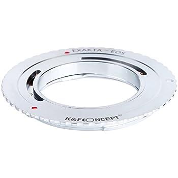 K&F Concept レンズマウントアダプター KF-EXAEF (エキザクタマウントレンズ → キャノンEFマウント変換)