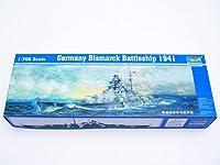 トランペッター 1/700 独海軍 戦艦 ビスマルク 1941 プラモデル[並行輸入品]