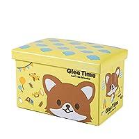 [ダーセン] 収納スツール おもちゃ箱 収納ボックス オットマン 子供 折りたたみ 大容量 48L H