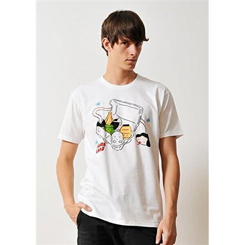 ( グラニフ ) graniph ベーシック Tシャツ / オバケエッグス ( ホワイト ) L