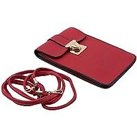 LALANG Red Female Wild Mini Crossbody Bag Small Mobile Phone Bag Handbag