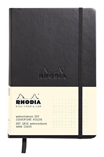 ロディア ノート WEBNOTEBOOK A5 ドット罫 ブラ...