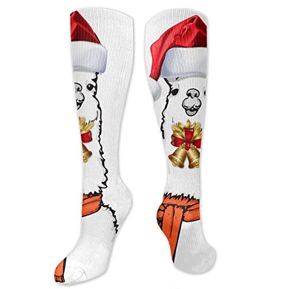 クロス車両下クリスマスシルエットソックスクリスマス休暇靴下靴下夏靴下クリスマス