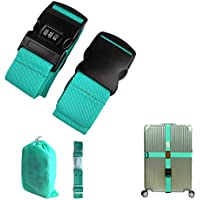 CHMETE Travel Suitcase Belts/Luggage Straps