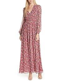 (ニコラスカークウッド) NICHOLAS Red Blossom Silk Maxi Dress レッドブロッサムシルクマキシドレス (並行輸入品)