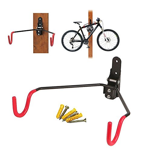 自転車 マウンテンバイク 収納 壁 ディスプレイ ラック 自...