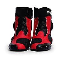 ShiSei(しせい) Riding Tribe バイクブーツ レーシングブーツ オンロードブーツ ライディングブーツ メンズ バイク用品 ツーリング 耐衝撃性 メーカー保証