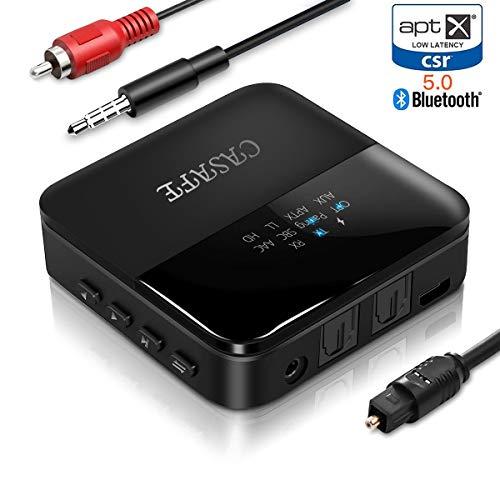 CASAFE Bluetooth 5.0 オーディオ トラン...